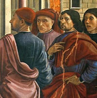 Autoritratto - Domenico Ghirlandaio